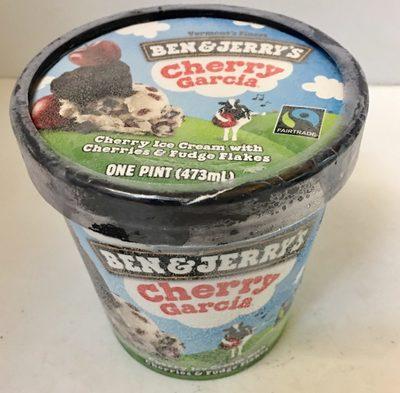 Ice Cream, Cherry Garcia - Product