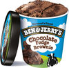 Ice cream chocolate fudge brownie - Product