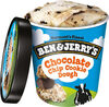 Vanilla ice cream with gobs of chocolate chip cookie dough, chocolate chip cookie dough - Product