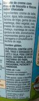 Chocolate Chip Cookie Dough - Ingredientes - pt