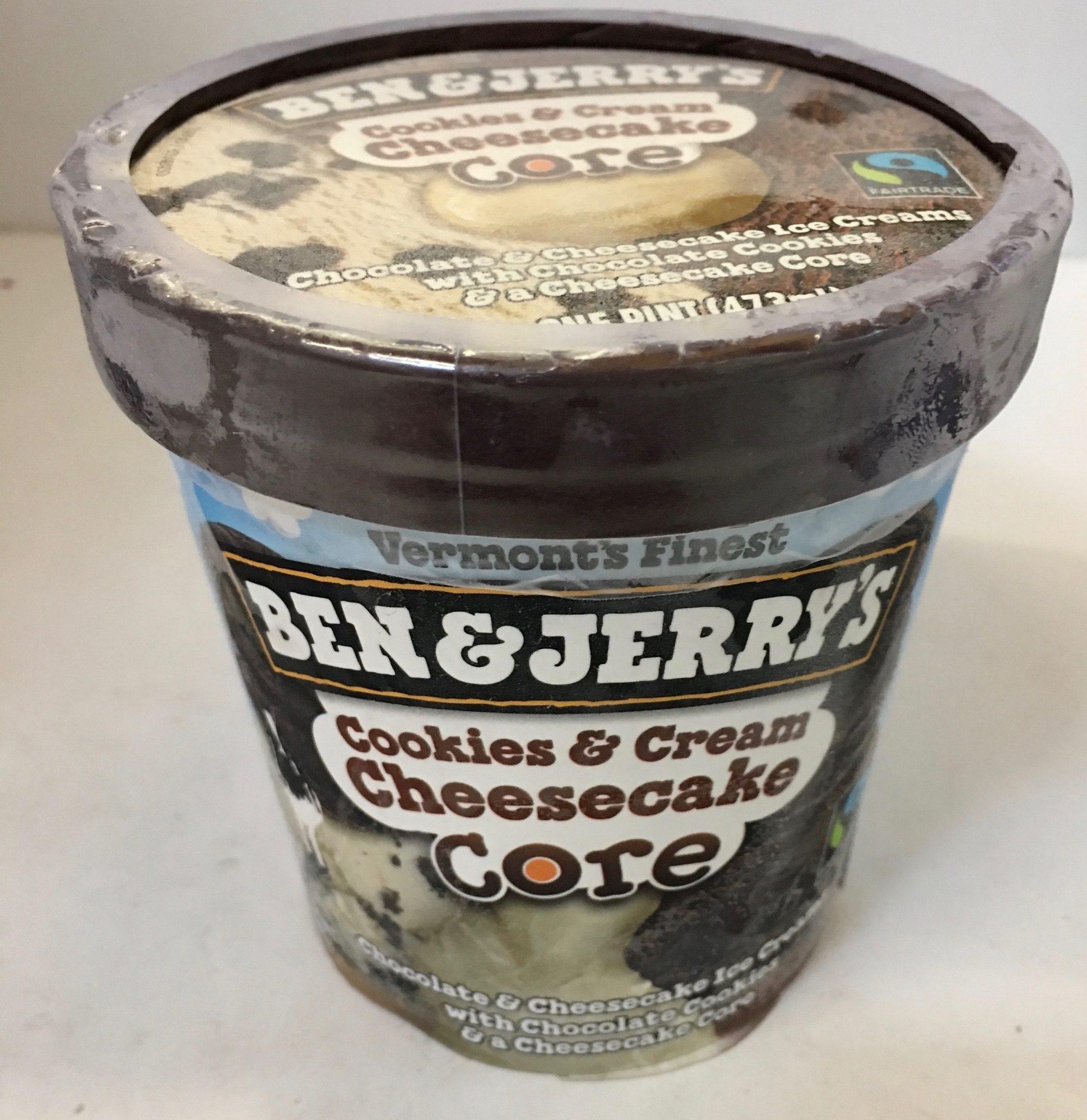 Core, Ice Cream, Cookies & Cream Cheesecake - Product