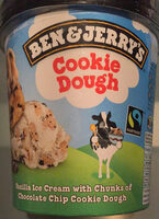 Ben & Jerry's Glace Cookie Dough Vanille 500 ml - Product - nl
