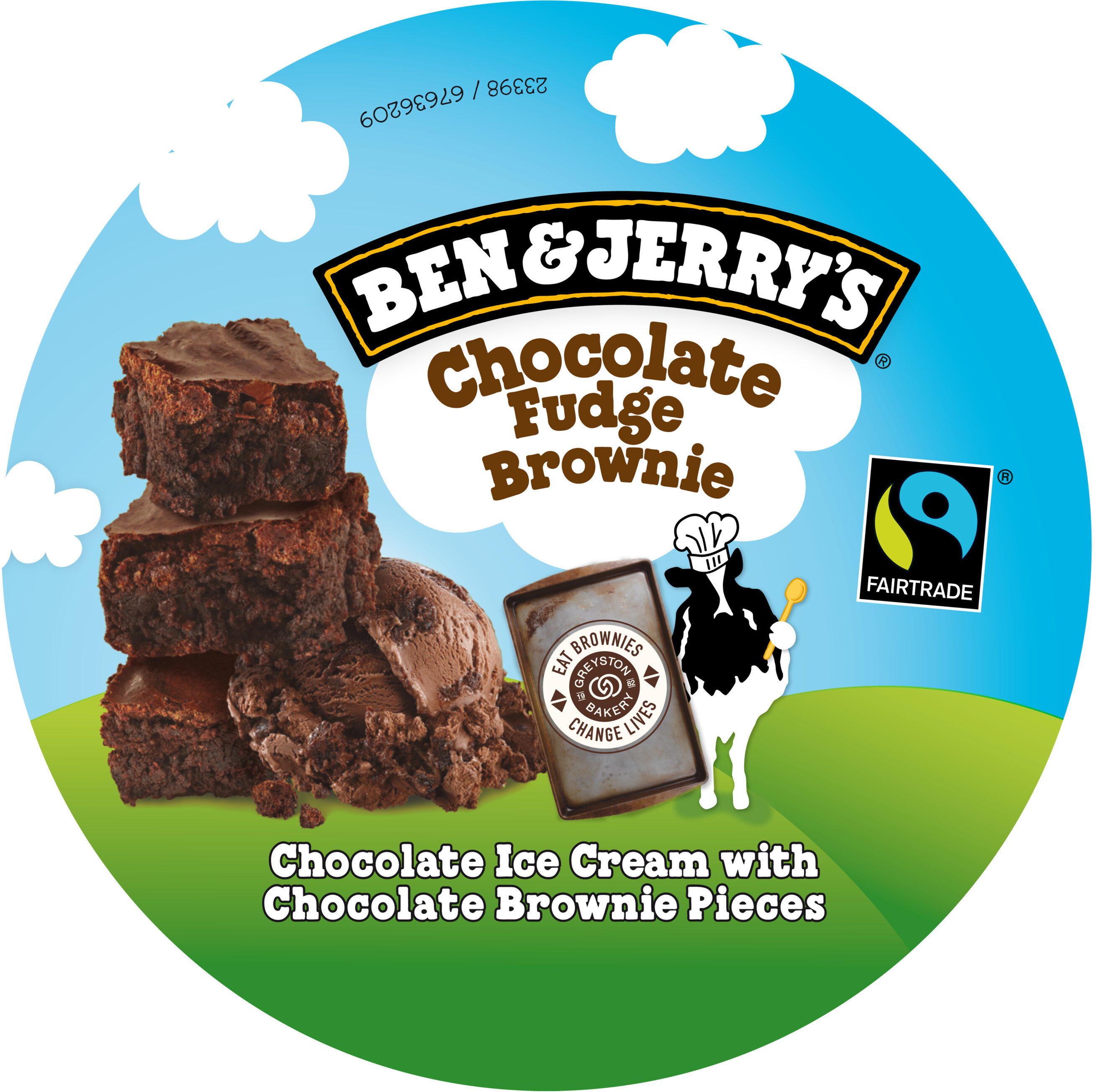 Chocolate Fudge Brownie - Product - fr