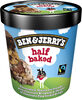 Ben & Jerry's Crème Glacée Pot Half Baked Cookie et Brownie 500ml - Product