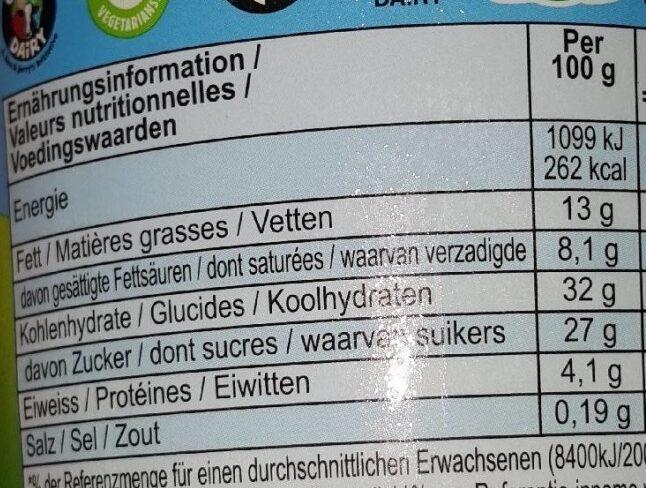 Half Baked - Voedingswaarden - fr