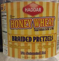 Honey Wheat Braided Pretzels - Product