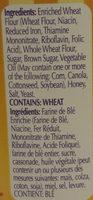 Honey Wheat Braided Pretzels - Ingredients