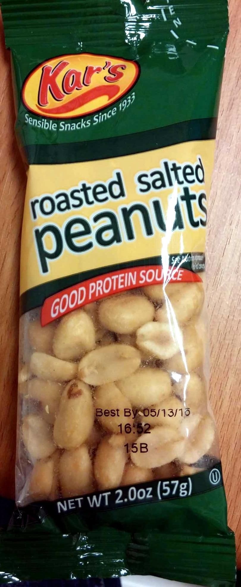 Roasted Salted Peanuts - Product