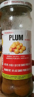 Preserved Plum in Brine - Product - en