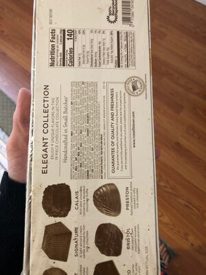 A decadent private reserve chocolate assortment - Ingredients - en