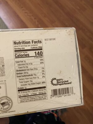 A decadent private reserve chocolate assortment - Nutrition facts - en