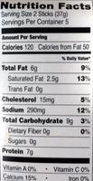 Italian Breaded Mozzarella Sticks - Nutrition facts - en