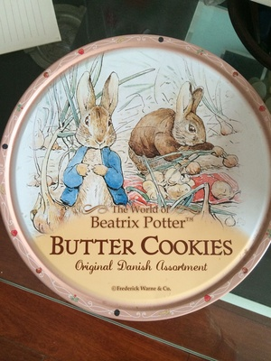Beatrix Potter Butter Cookies