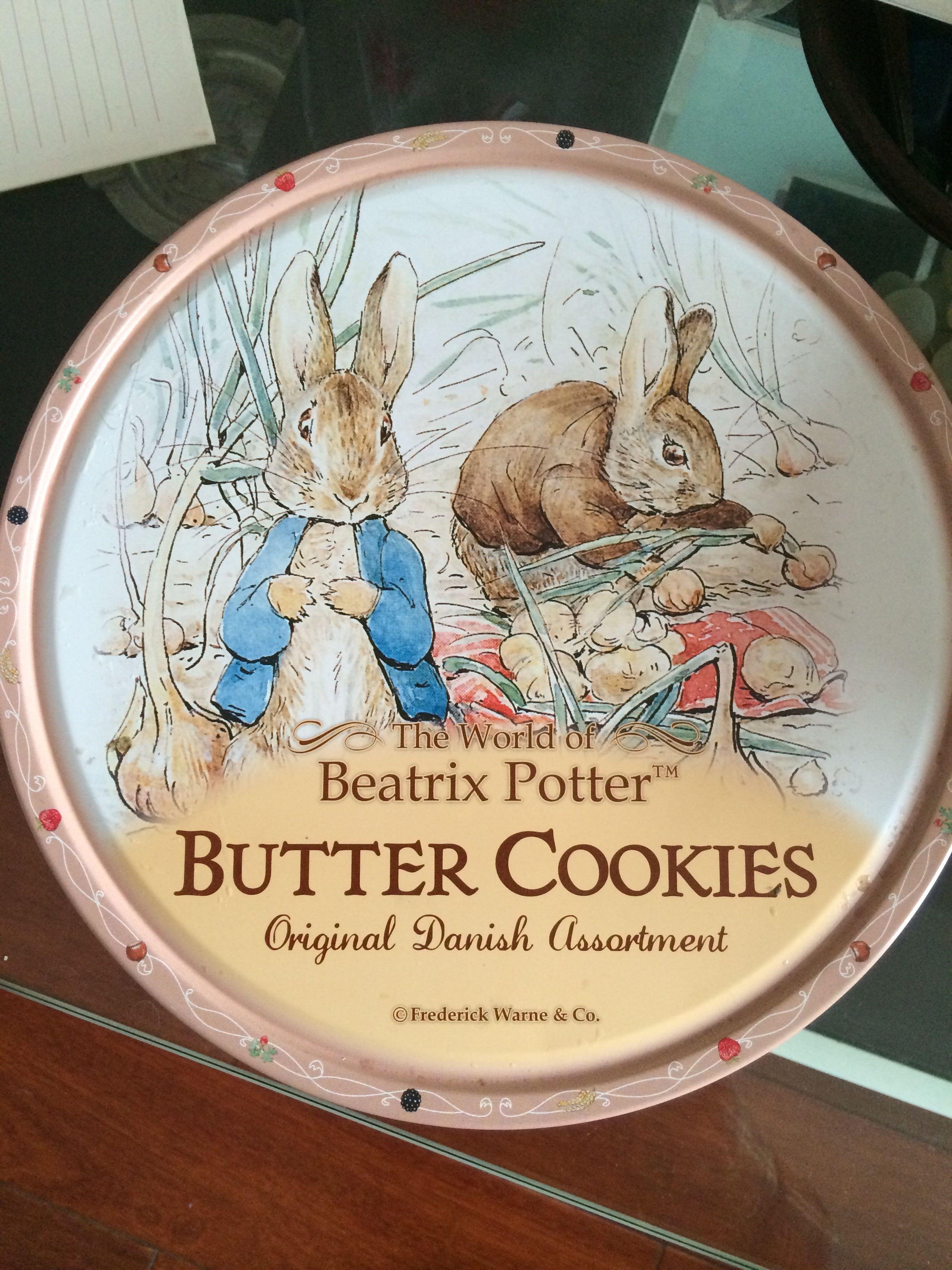 Beatrix Potter Butter Cookies - 产品 - en