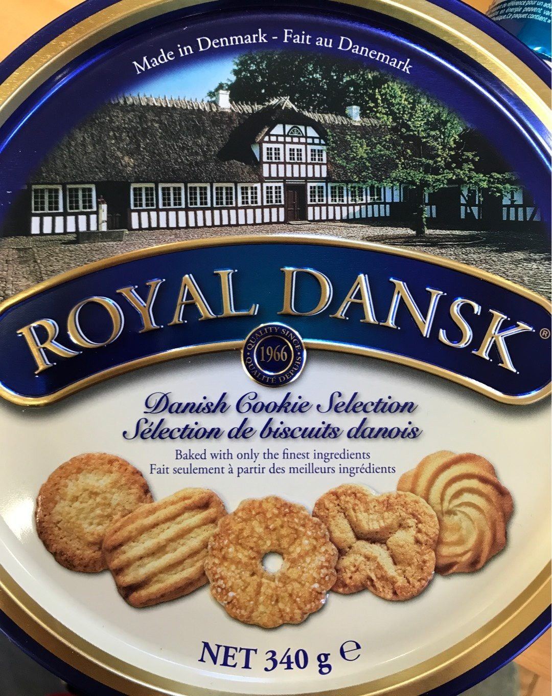 Royal Dansk Traditional Cookie Selection - Product