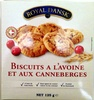 Biscuits à l'avoine et aux canneberges - Product