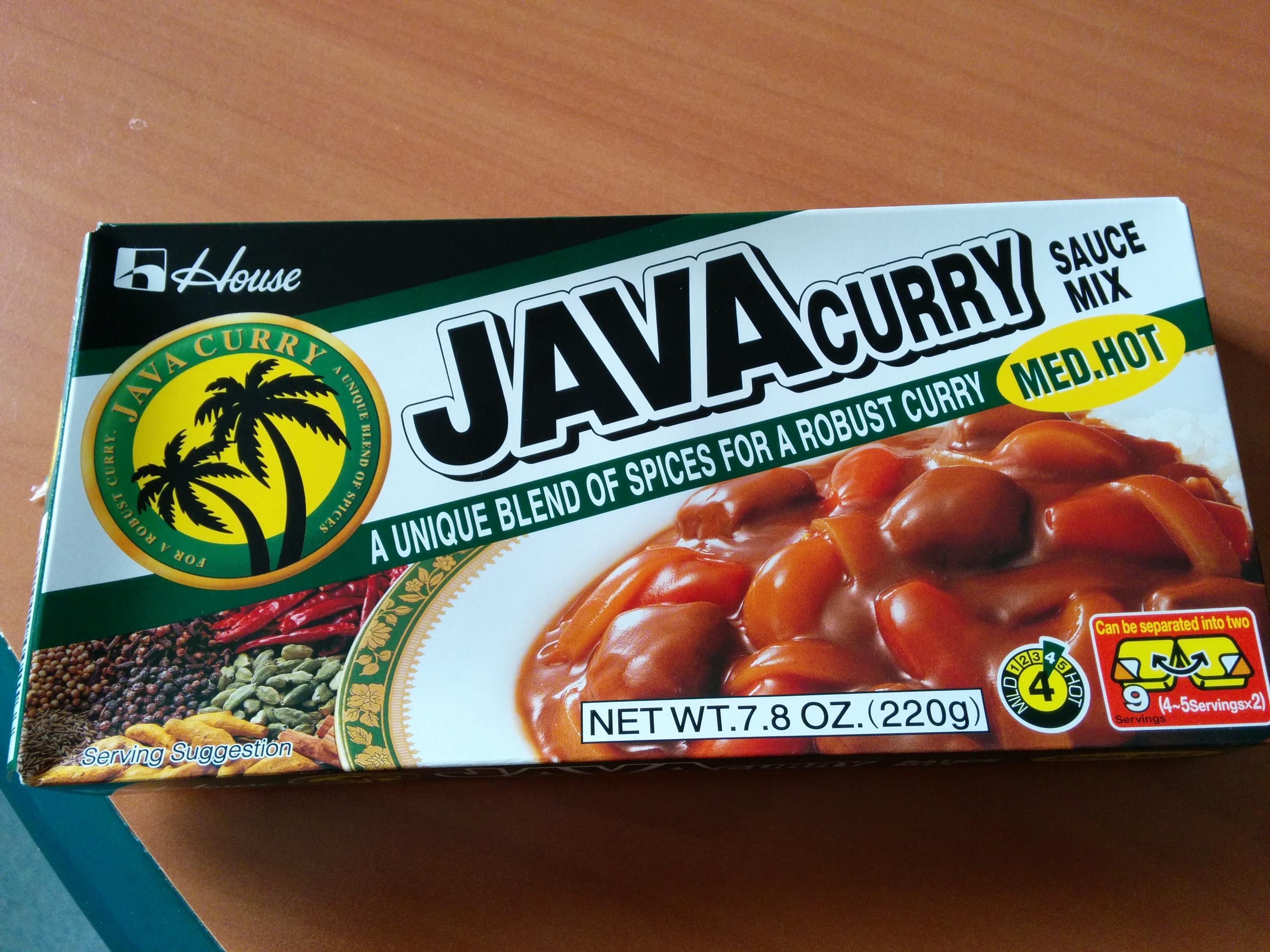 Java Curry Sace Mix - Produit - fr