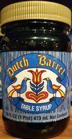 Dutch barrel table syrup - Product - en