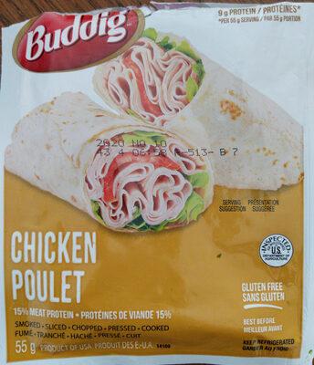 Buddig, chicken deli slices - Product
