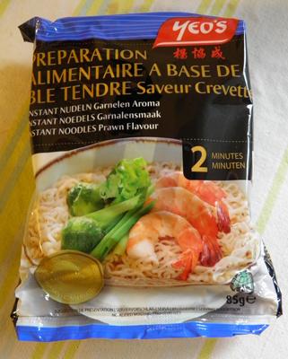 Nouilles instantanées saveur crevettes Yeo's - Produit - fr