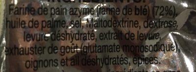 Bissli Pizza 70 G - Ingredients - fr