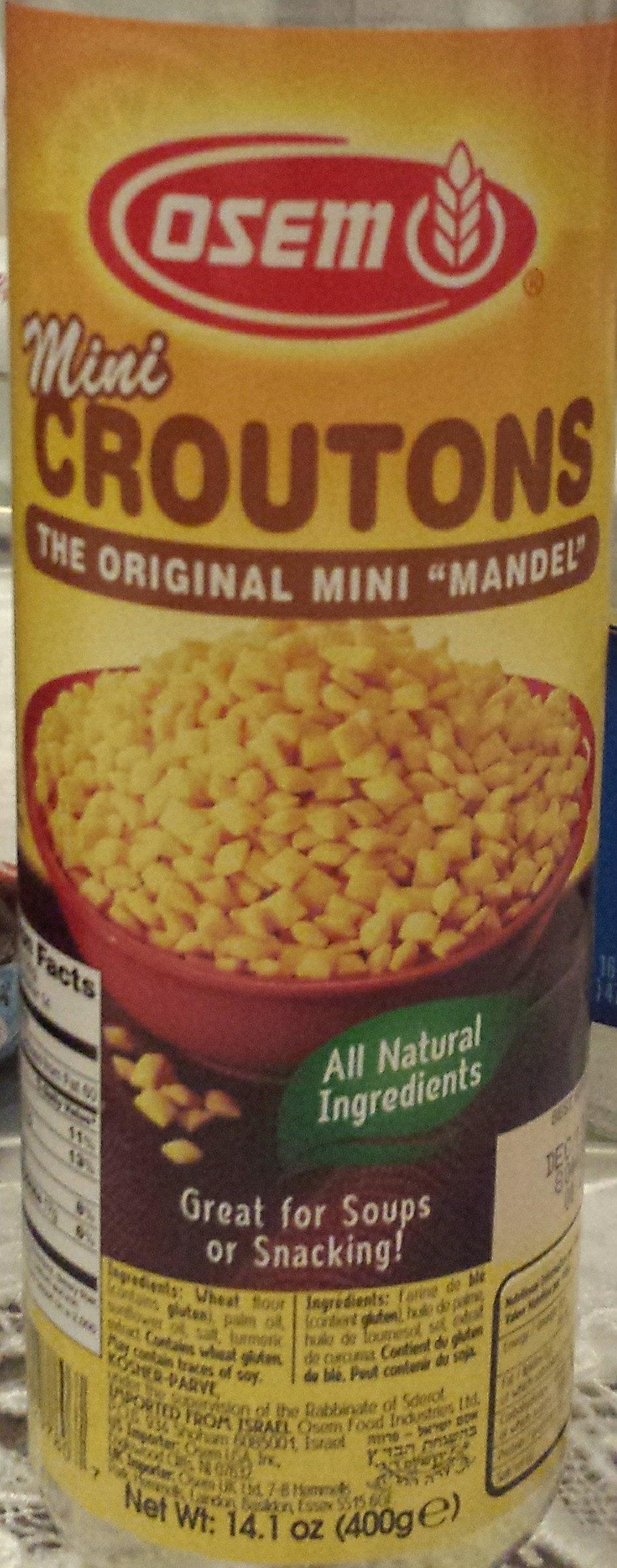 Mini croutons - Product - en