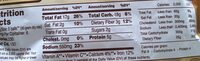 Falafel Mix - Nutrition facts - en