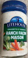 Vinaigrette et trempette Ranch Façon maison - Product - fr
