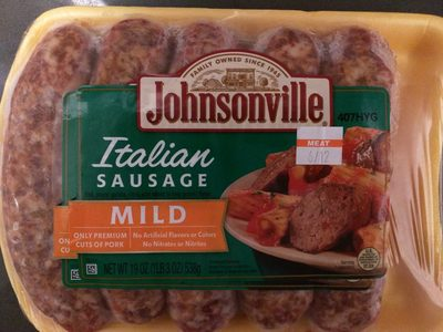 Italian sausage - Product - en