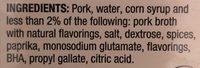 Italian sausage - Ingredients - en