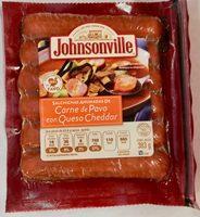 Johnsonville salchichas ahumadas con queso cheddar - Produit