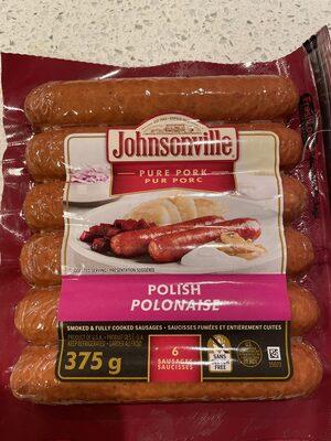 Pure pork sausage - Product - en