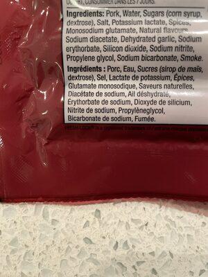 Pure pork sausage - Ingredients - en