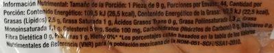 Johnsonville Mini Salchichas  Ahumadas - Voedingswaarden - es