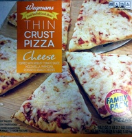Thin Crust Cheese Pizza - Product