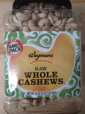 Raw Whole Cashews - Prodotto - en