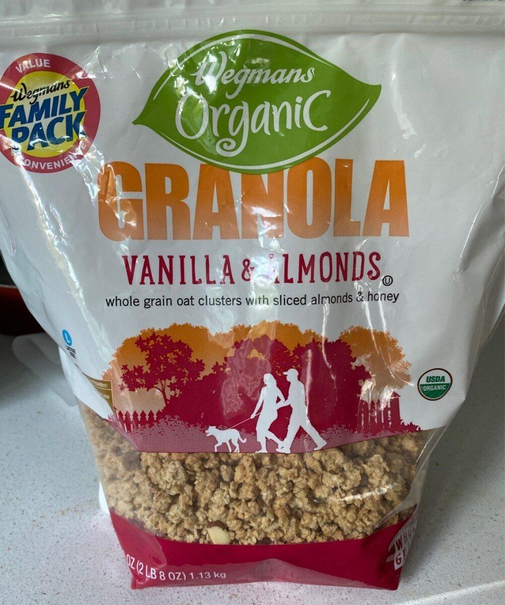 Organic vanilla & almonds whole grain oat clusters - Product - en