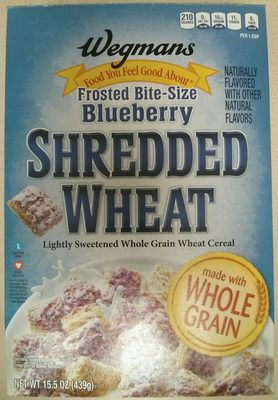 Frosted Bite-Size Blueberry Shredded Wheat - Product - en