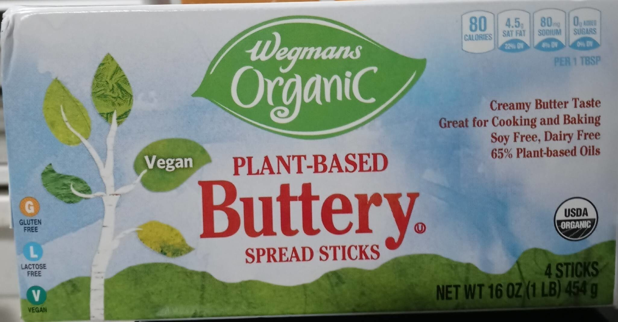 Organic Plant Based Buttery Spread Stick - Product - en