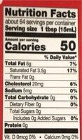 Grade a ultra pasteurized heavy cream - Nutrition facts - en