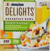 Delights frozen turkey sausage breakfast bowl - Product