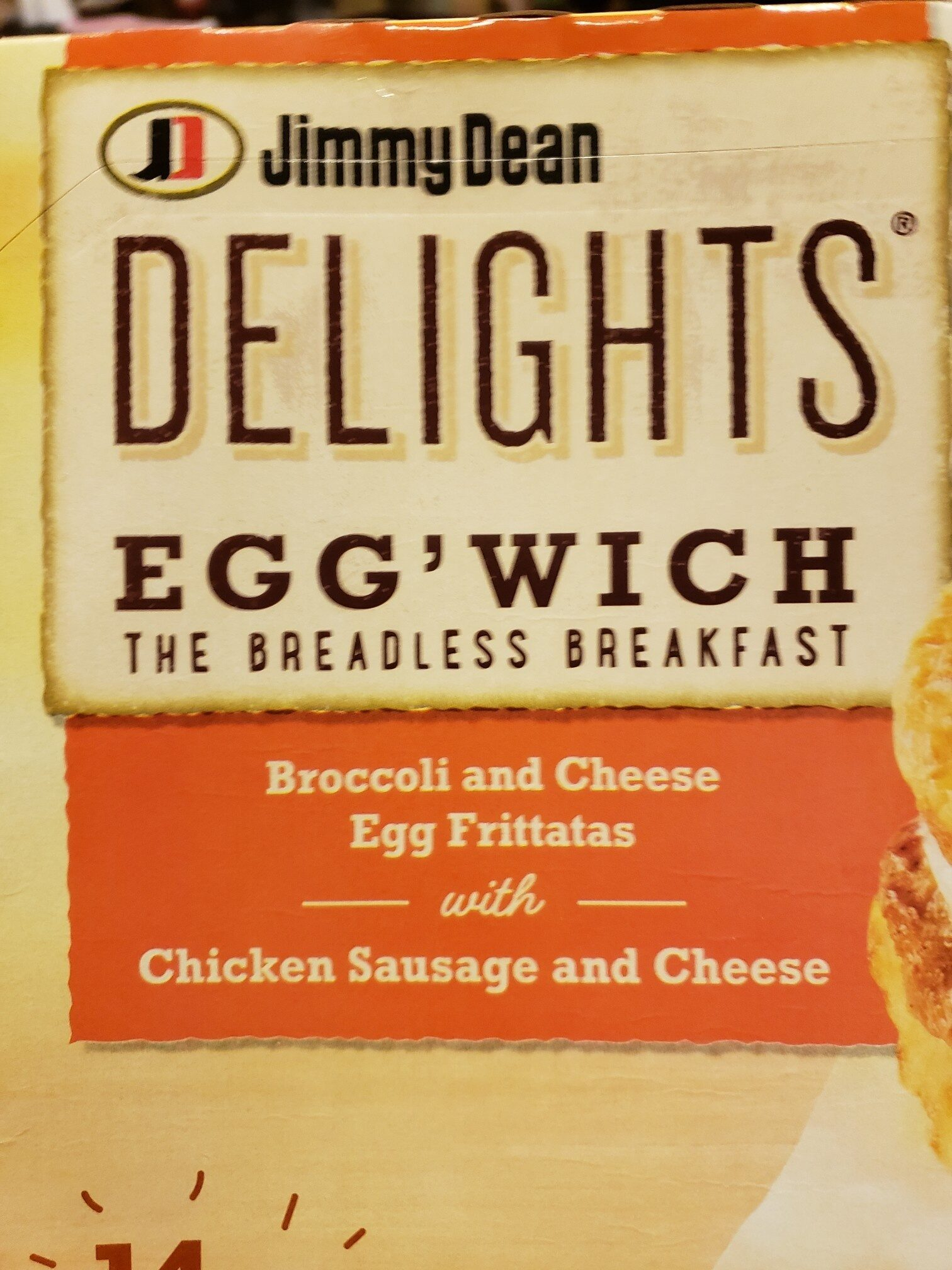 Jimmy Dean Egg' Wich - Product