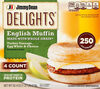 Delights turkey sausage egg whites - Product