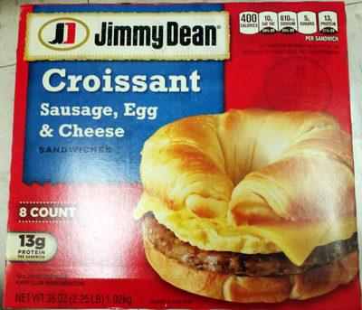 Croissant sandwiches - Product - en