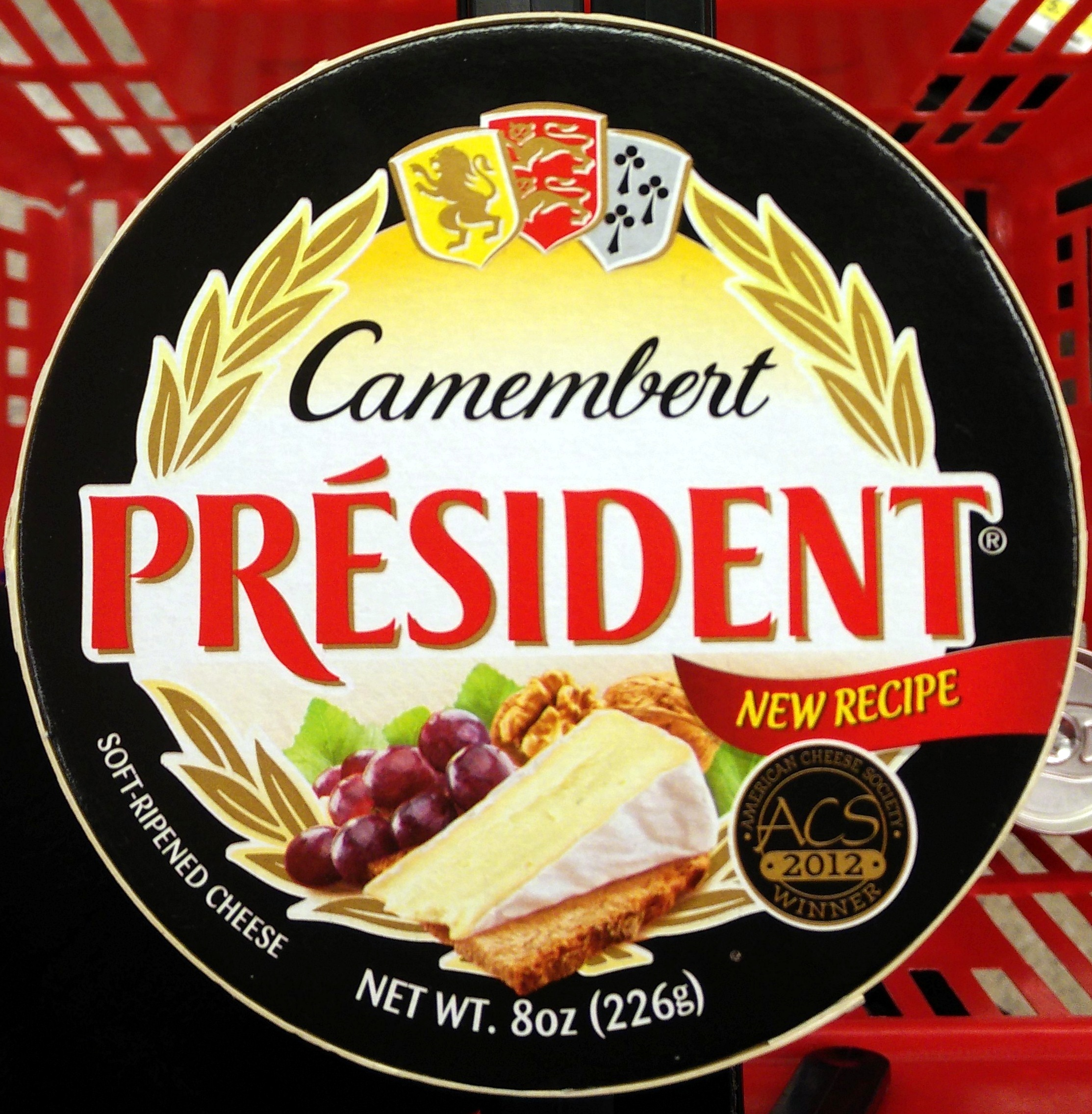 Camembert Soft-Ripened Cheese - Product - en