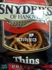Thins pretzels - Product