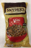 Snyder's of hanover mini pretzels - Producto - es