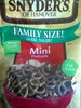 Snyder's of hanover, mini pretzels - Product