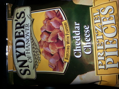 Snyder's Of Hanover Pretzel Pieces Cheddar Cheese - Product