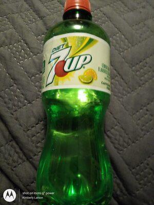 7 Up Lemon Lime Soda Diet - 6 CT - Ingredients - en
